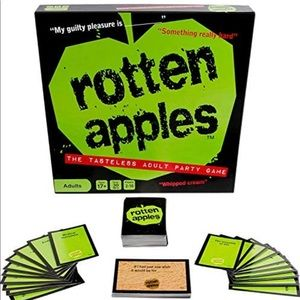 Rotten Apples ~ The Tasteless Adult Party Game